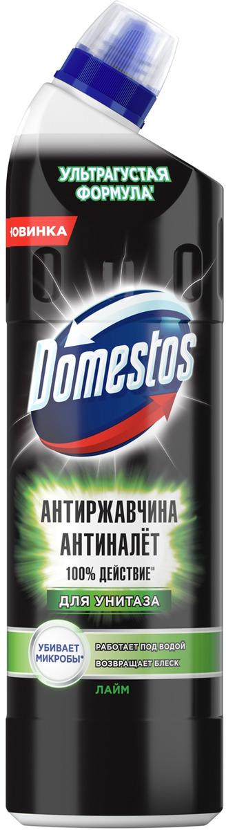 Чистящее средство для унитаза Domestos Устранение налета и ржавчины. Лайм, 750 мл glorix чистящее средство для пола деликатные поверхности 1л