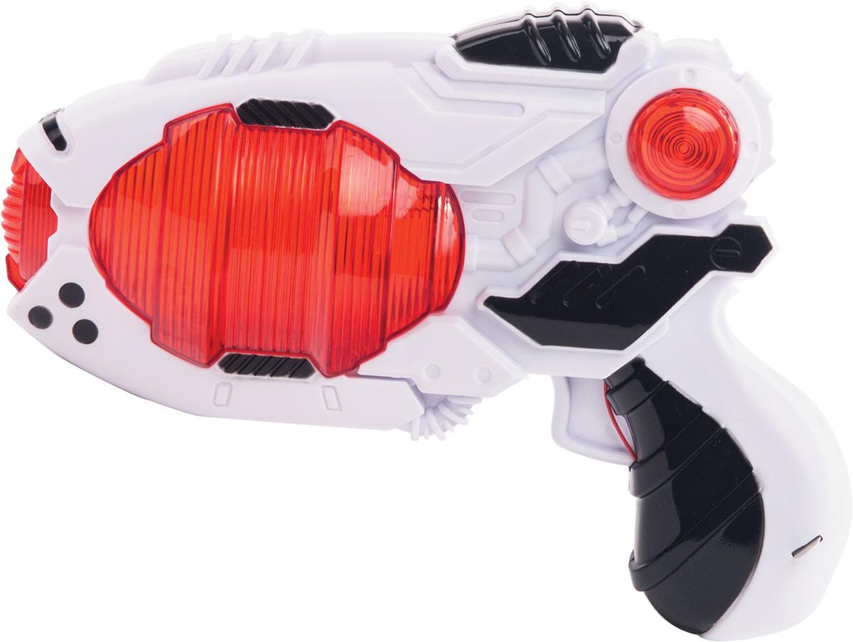 Бластер Fun Red, со звуковыми и световыми эффектами, длина 18 см fun red бластер белый
