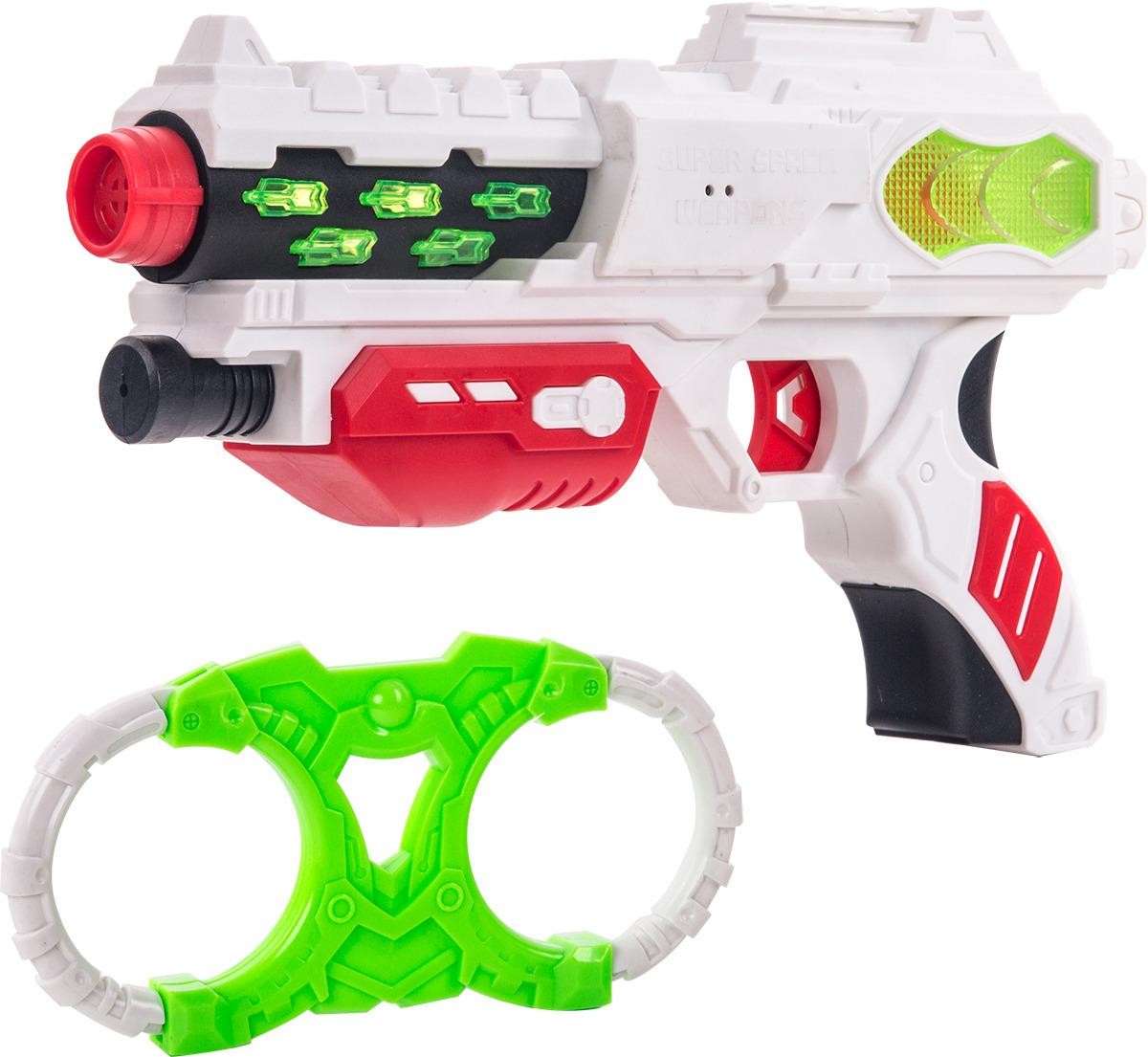 Игровой набор Fun Red: бластер, наручники, со звуковыми и световыми эффектами fun red бластер белый