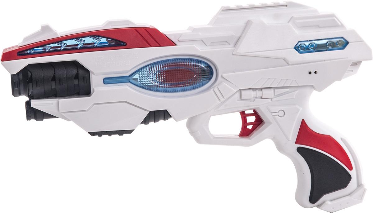 Игровой набор Fun Red: бластер, часы, со звуковыми и световыми эффектами fun red бластер белый