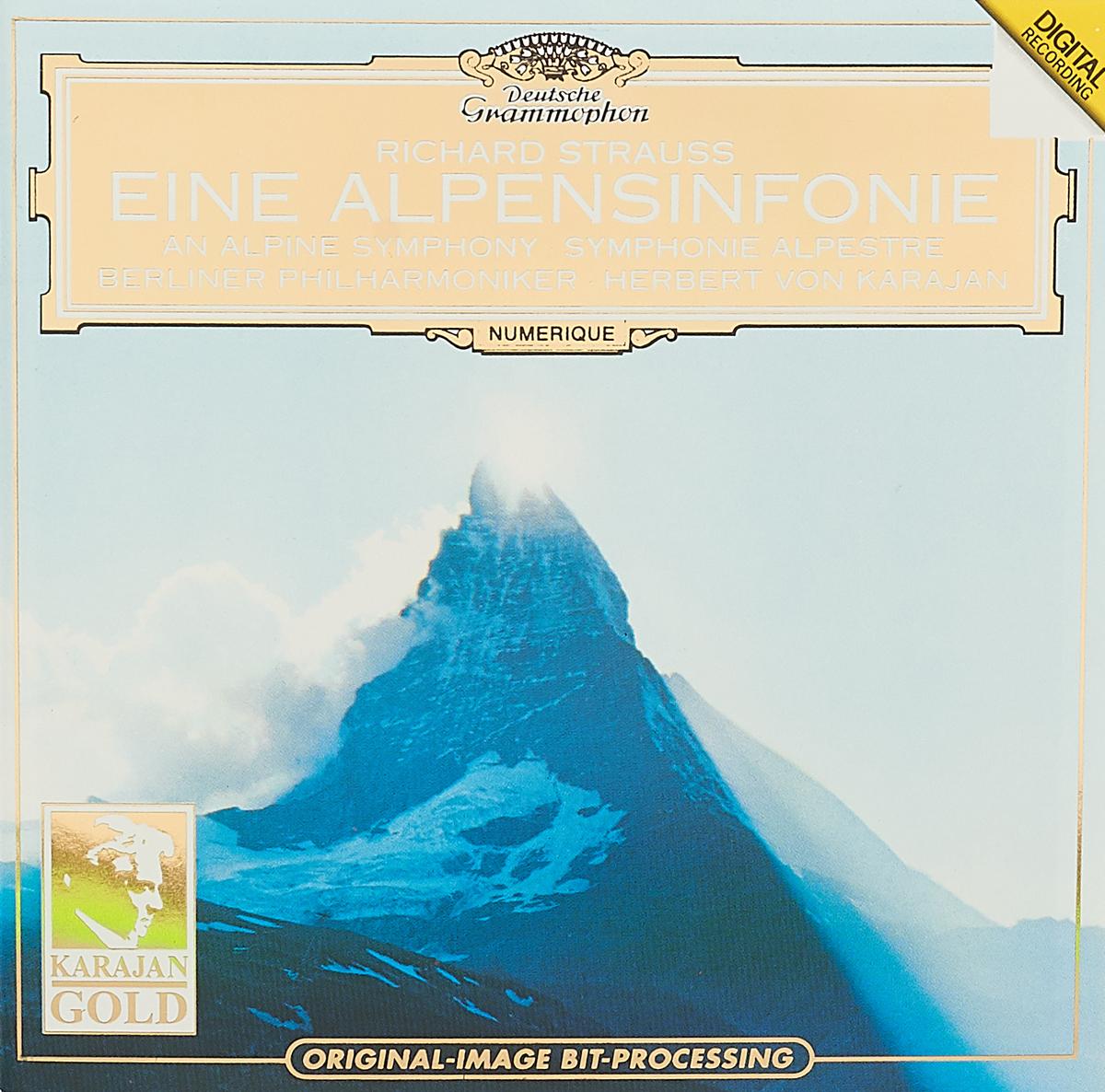 Richard Strauss. An Alpine Symphony. Herbert von Karajan herbert von karajan j strauss