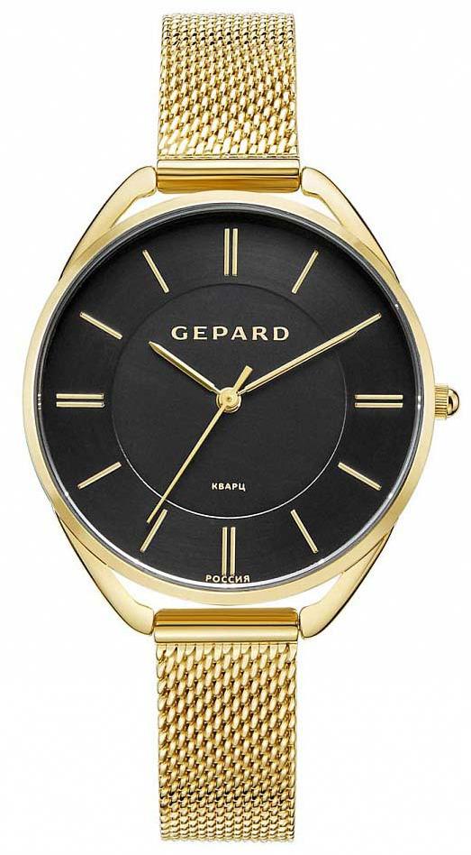 Часы наручные женские Gepard, цвет: золотой. 1305A2B5