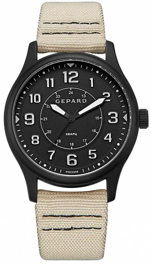 Часы наручные мужские Gepard, цвет: черный. 1306A11L2 цена и фото