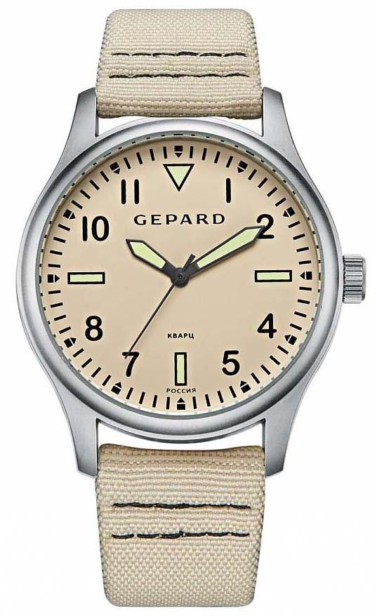 Часы наручные мужские Gepard, цвет: серебристый. 1306A1L1 все цены