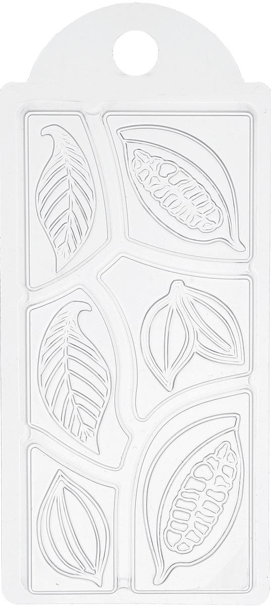 Форма для мыла Выдумщики Шоколад какао дольки, 15 х 7 х 1 см форма для мыла выдумщики летний луг 6 5 х 7 5 х 1 5 см