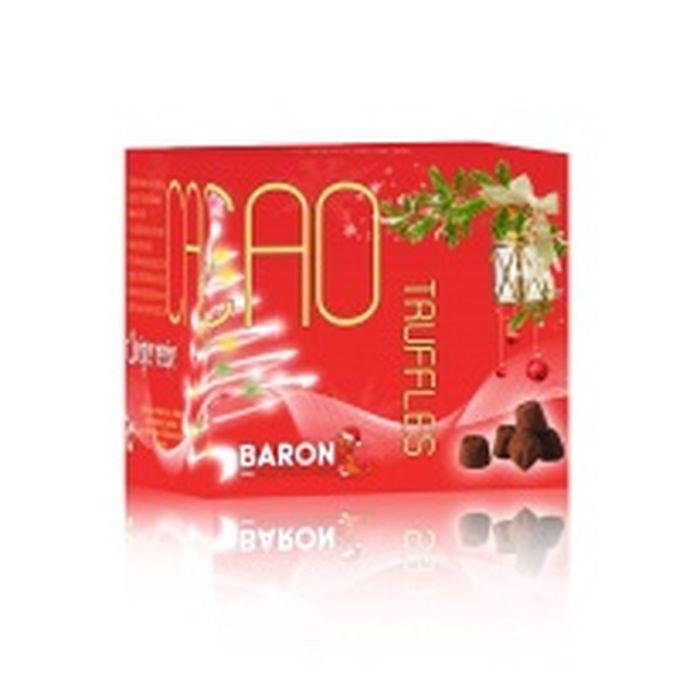 Трюфели французские Monty Bojangles Baron, 150 г baron французские трюфели с кусочками малины 100 г