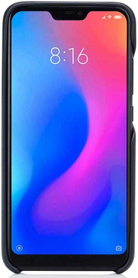 Чехол G-Case GG-975 Slim Premium для Xiaomi Mi A2 Lite / Redmi 6 Pro, цвет: черный чехол g case gg 972 slim premium для xiaomi redmi 6a цвет черный