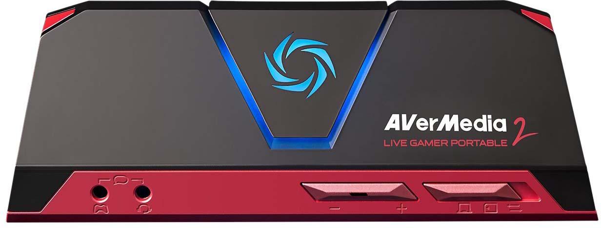 Плата видеозахвата AVerMedia Live Gamer Portable 2, GC510 плата видеозахвата elgato game capture hd60 pro