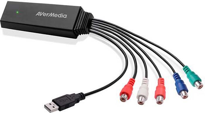 Конвертер видеосигнала AVerMedia Video Converter ET113, Component to HDMI hdmi to composite av rca converter