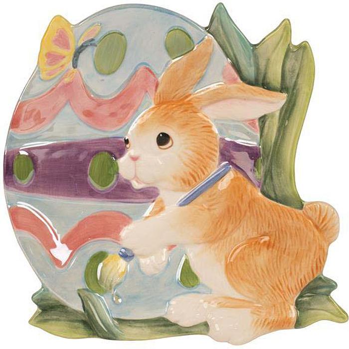 Блюдо Fitz and Floyd Блюдо для пирожных Пасхальное яйцо, Керамика
