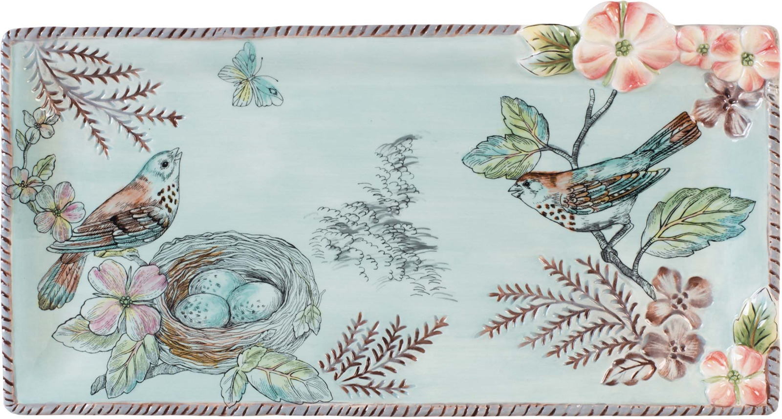 Блюдо Fitz and Floyd Блюдо Английский сад, Керамика