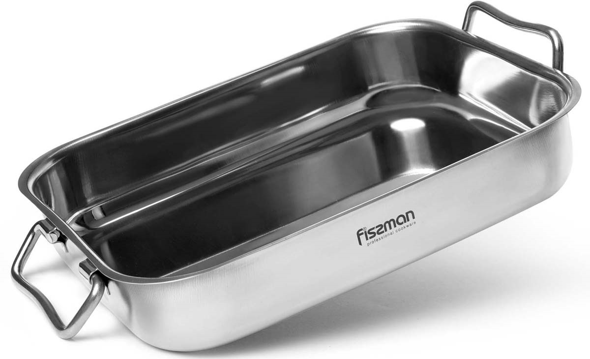 Противень для запекания Fissman, 25 х 18 х 5 см matissa противень для запекания matissa 29х20х5 см алюминий