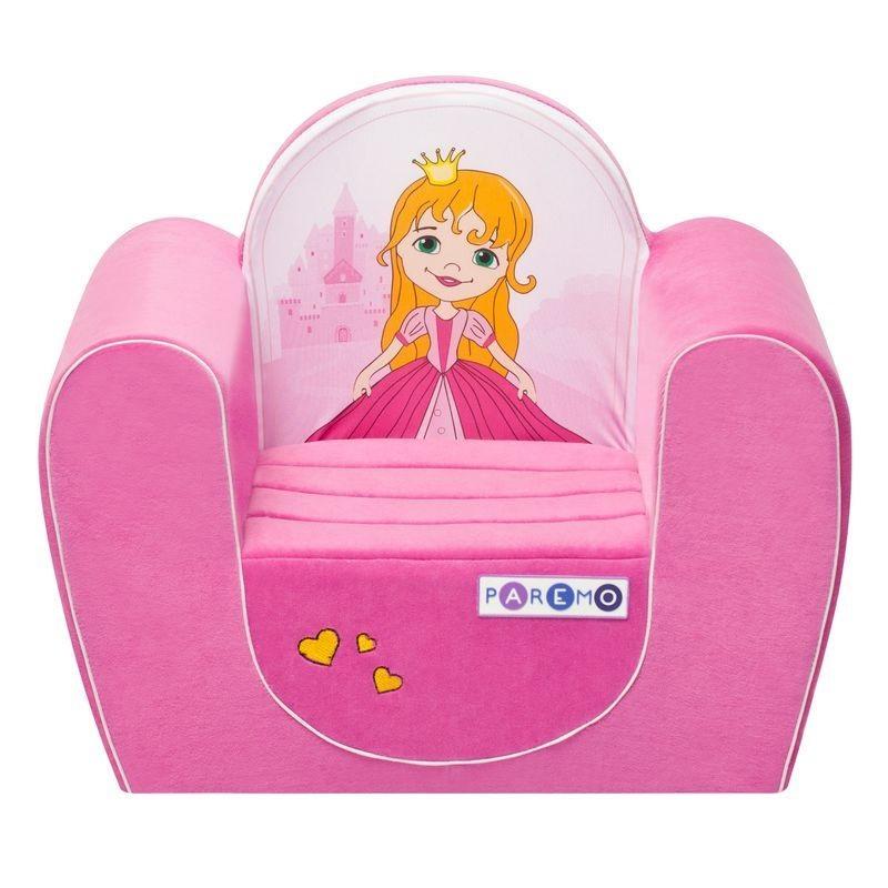 """Игровое кресло PAREMO """"Принцесса"""", цвет: розовый"""