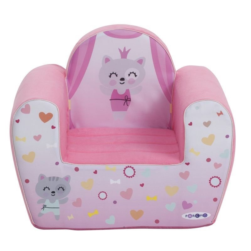 """Игровое кресло PAREMO """"Крошка Ми"""", цвет: розовый"""