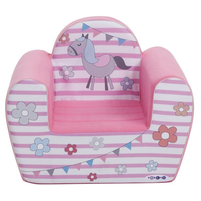 """Игровое кресло PAREMO """"Крошка Ли"""", цвет: розовый"""