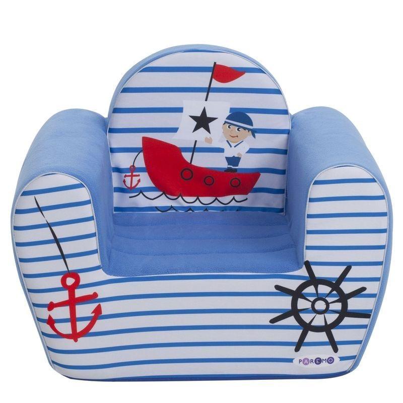 """Игровое кресло PAREMO """"Мореплаватель"""", цвет: голубой"""