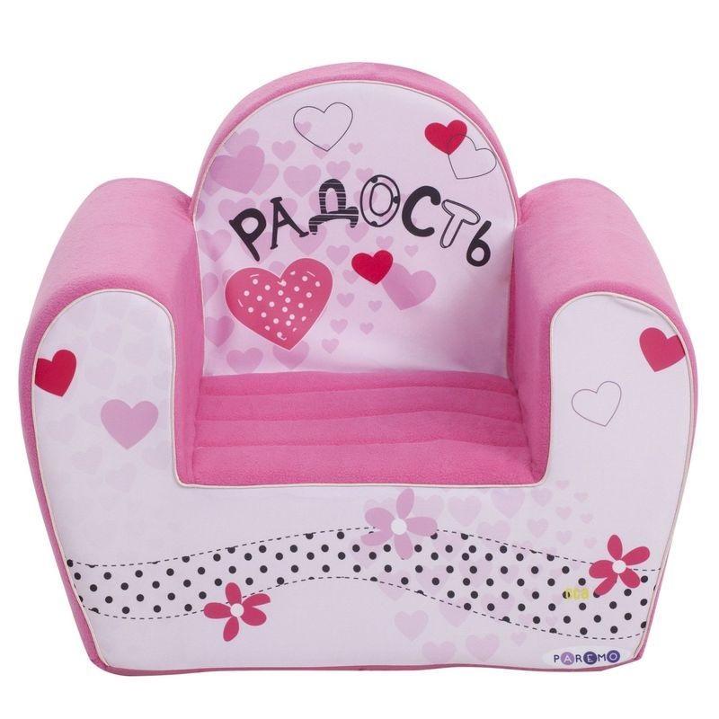 """Игровое кресло PAREMO """"#Радость"""", цвет: розовый"""