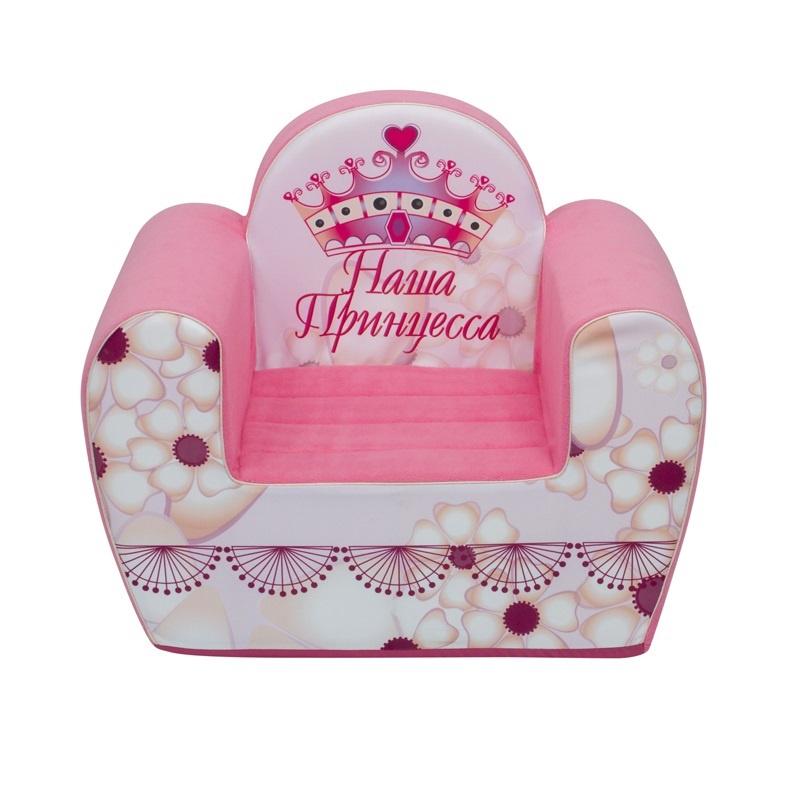 """Игровое кресло PAREMO """"#НашаПринцесса"""", цвет: розовый"""