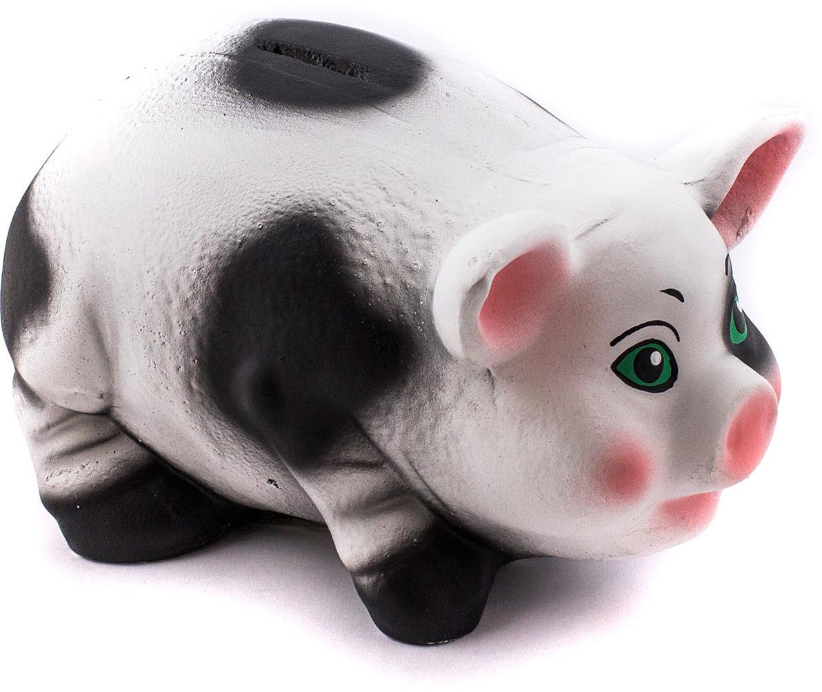 "Копилка Эврика ""Свинка №2"", цвет: белый. 99076"