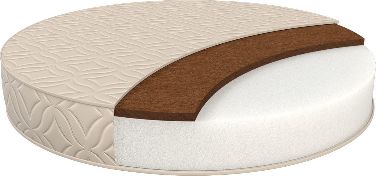 Матрас в кроватку Sweet Baby Cocos DeLuxe, круглый, 10 см