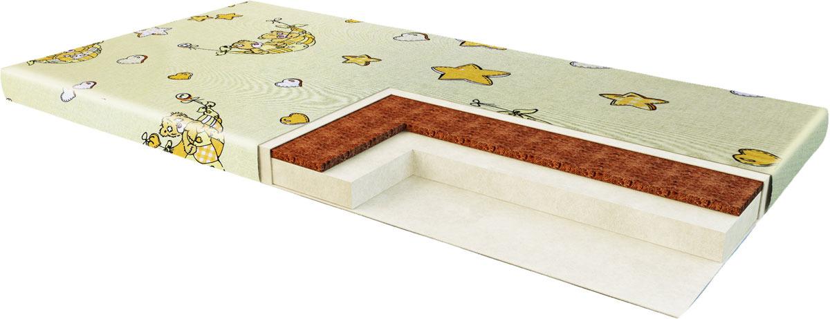 Матрас в кроватку Sweet Baby Cocos Comfort, 7 см. 405659, цвет в ассортименте