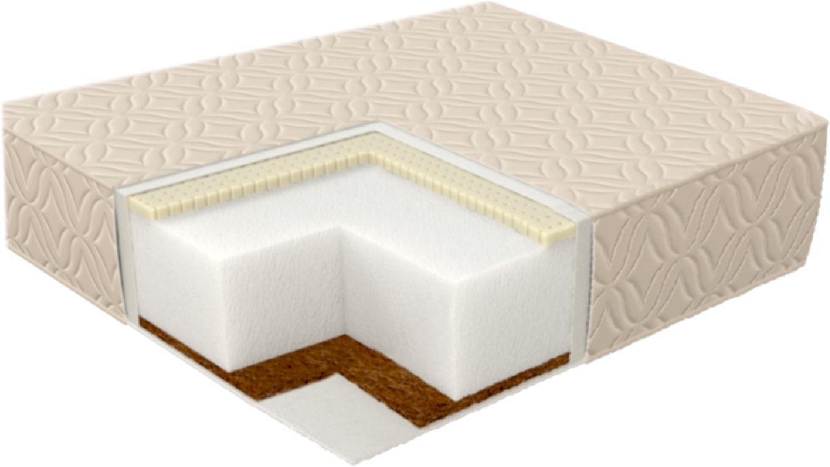 Матрас в кроватку Sweet Baby Latex DeLuxe Parte, 12 см409878Матрас Sweet Baby LATEX DeLuxe Parte – дополнительная вставка в кровать-трансформер. Это идеальное решение для владельцев кровати – трансформера! Эта модель представляет собой основу из слоя кокосовой койры, нетканого волокна HOLLCON, натурального Латекса и съемного стеганого чехла из микрофайбера.Самый популярный наполнитель на данный момент благодаря своей натуральности и прочности – кокосовая койра. Она признана экологически чистой и абсолютно безопасной. Кроме прочего, этот материал наделен бактерицидными свойствами. Также не впитывает жидкость и не хранит запахи, что является весомым аргументом в ее пользу.Натуральный латекс, который используется в изготовлении данной линии матрасов, признан одним из самых чистых и 100% не вызывающих аллергию или раздражения. Этот материал прекрасно «дышит» благодаря своей губчатой структуре и в тоже время не впитывает запах и обладает водоотталкивающим свойством. Отличная упругость и качество позволяет гарантировать долгий срок службы и комфортный сон.Нетканое волокно HOLLCON до сих пор считается революционной разработкой в данной отрасли. Технология его изготовления обеспечила материалу отличную упругость. За счет этого он не только полностью повторяет контур тела, но и очень долгое время не теряет форму.Стеганый чехол из микрофайбера выполнен в нежном светло- бежевом цвете. Не вызывает аллергию или раздражение у самых маленьких, даже при контакте непосредственно с кожей. В комплекте: - Матрас. Характеристики: - Материалы матраса: коко... Рекомендуем!