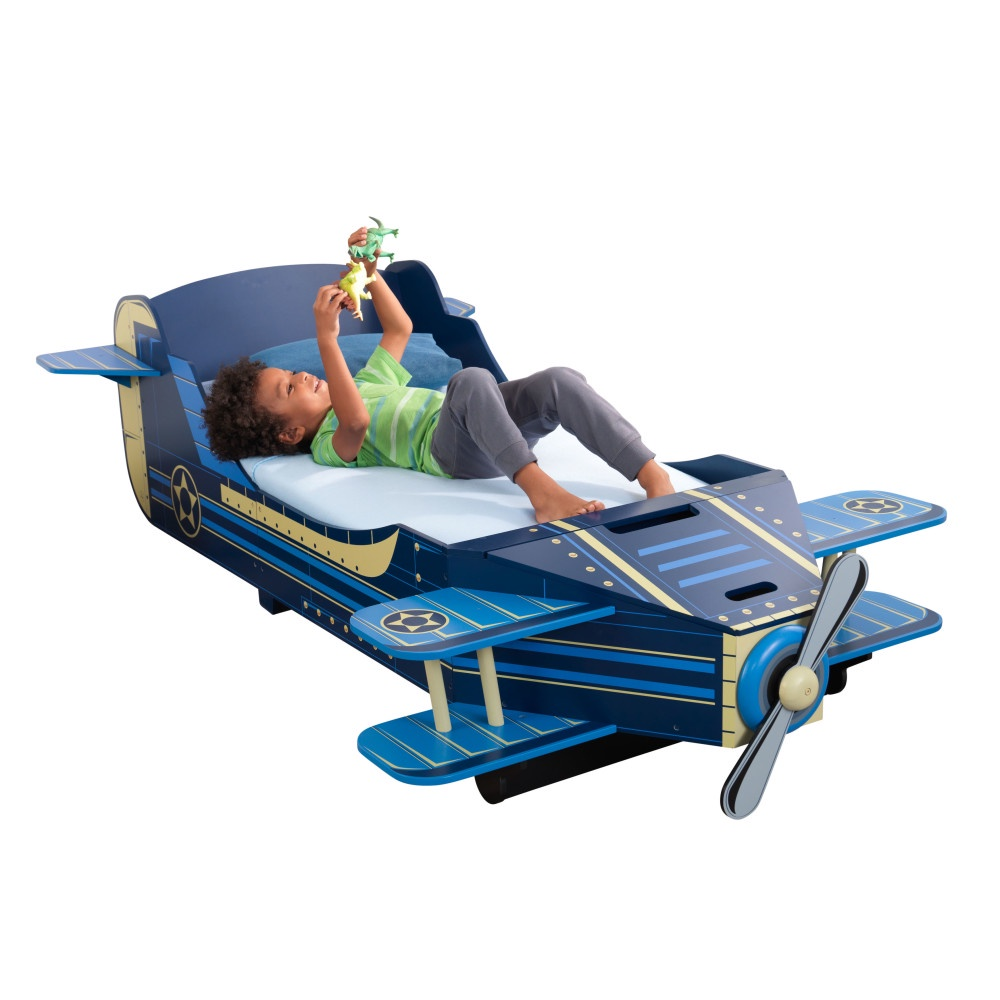 Кровать детская KidKraft Самолет, 76277_KE детская кровать kidkraft детская кровать кукольный домик с полочками