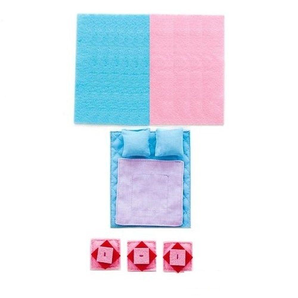 Набор текстиля для кукольных домиков PAREMO
