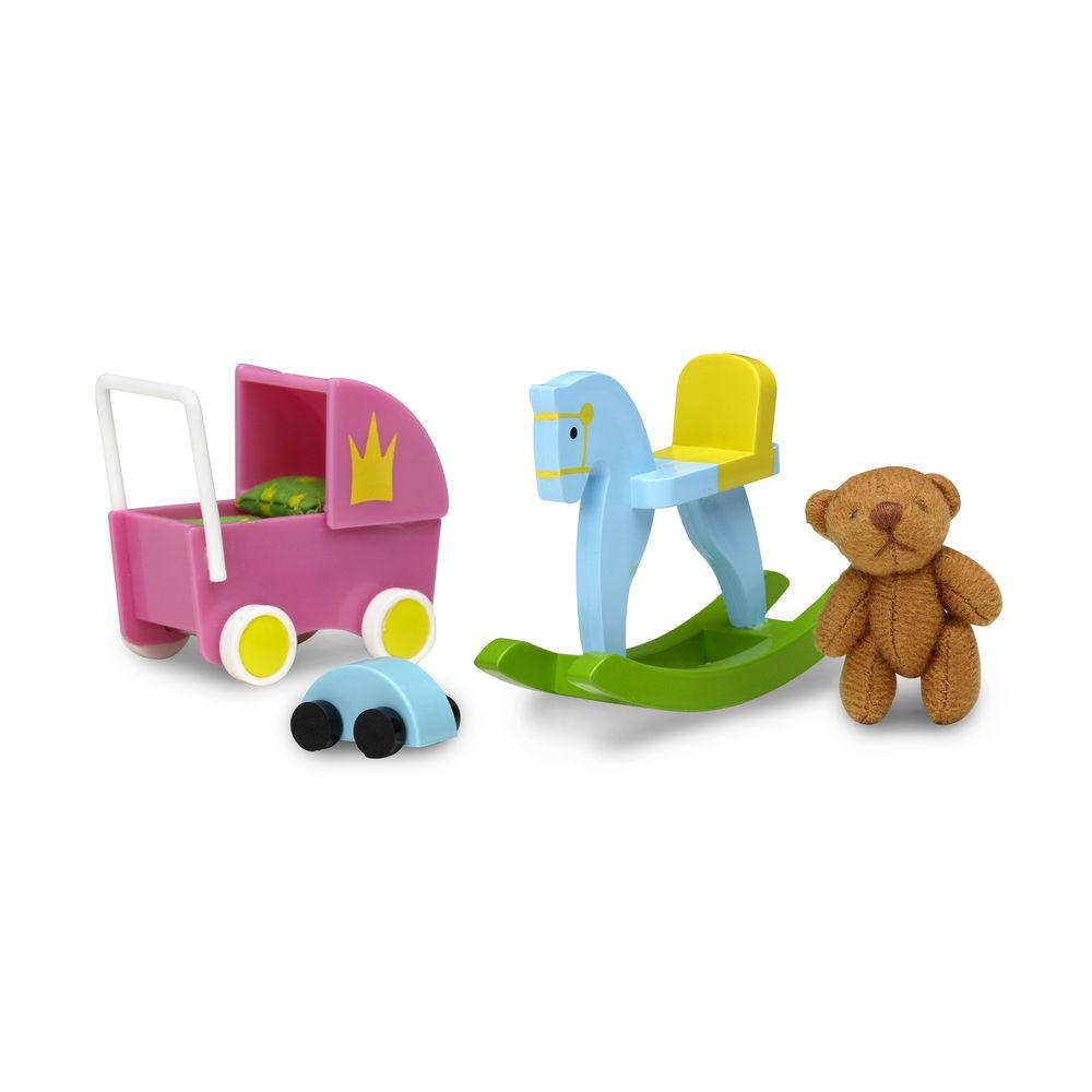 Аксессуары для домика Смоланд Lundby Игрушки для детской аксессуары для домика смоланд lundby батут с машинкой