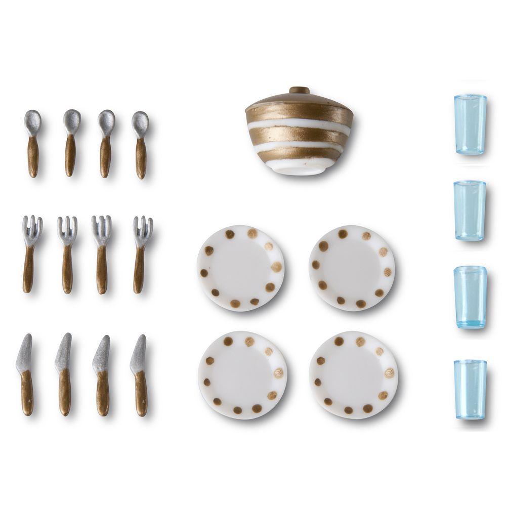 Игровой набор для домика Смоланд Lundby Столовая посуда аксессуары для домика смоланд lundby батут с машинкой