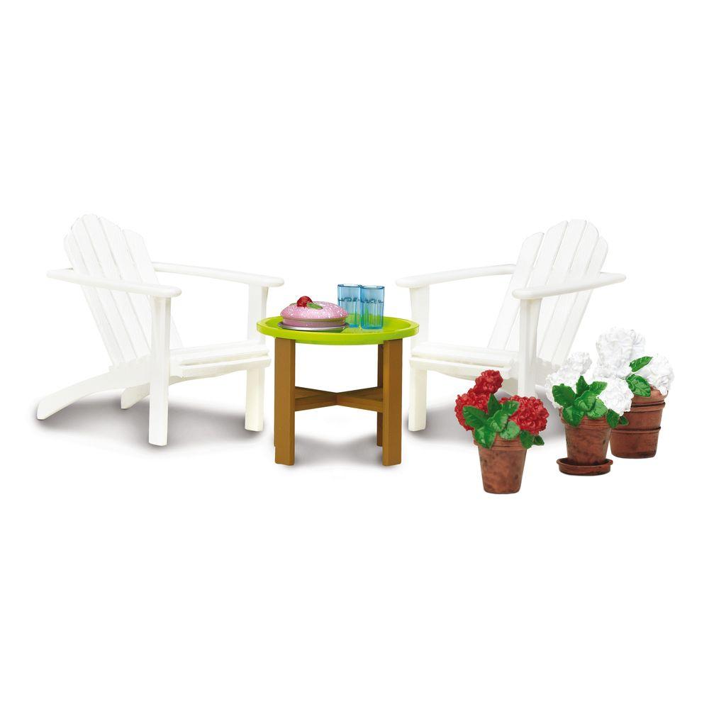 Фото - Мебель для домика Смоланд Lundby Садовый комплект аксессуары для домика lundby смоланд батут с машинкой