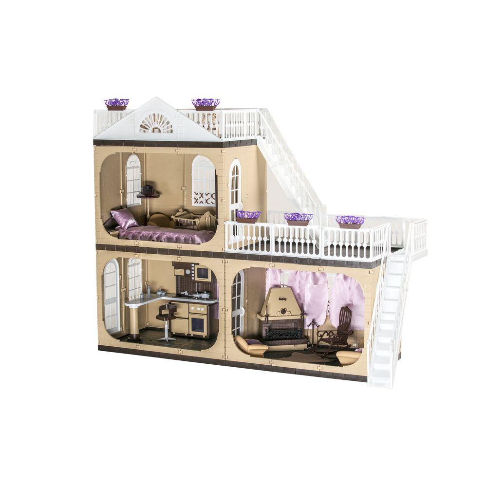 Дом для кукол ОГОНЕК Коттедж