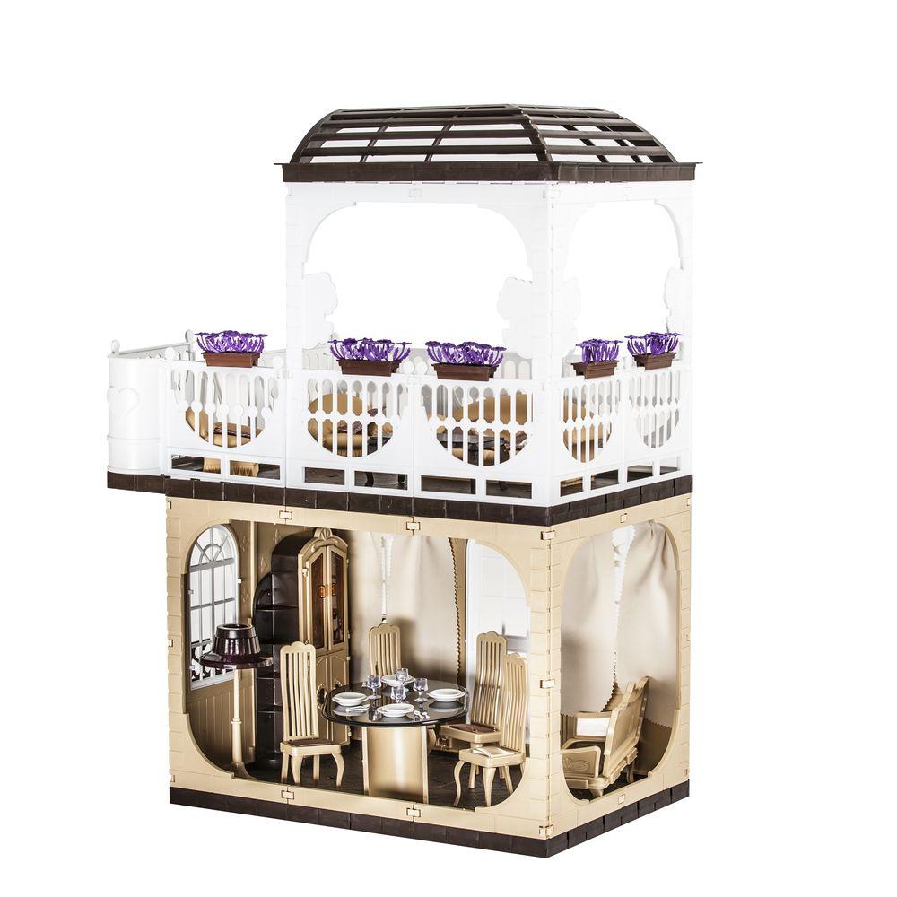 Дом для кукол ОГОНЕК Дом огонек набор мебели для кукол коллекция для столовой
