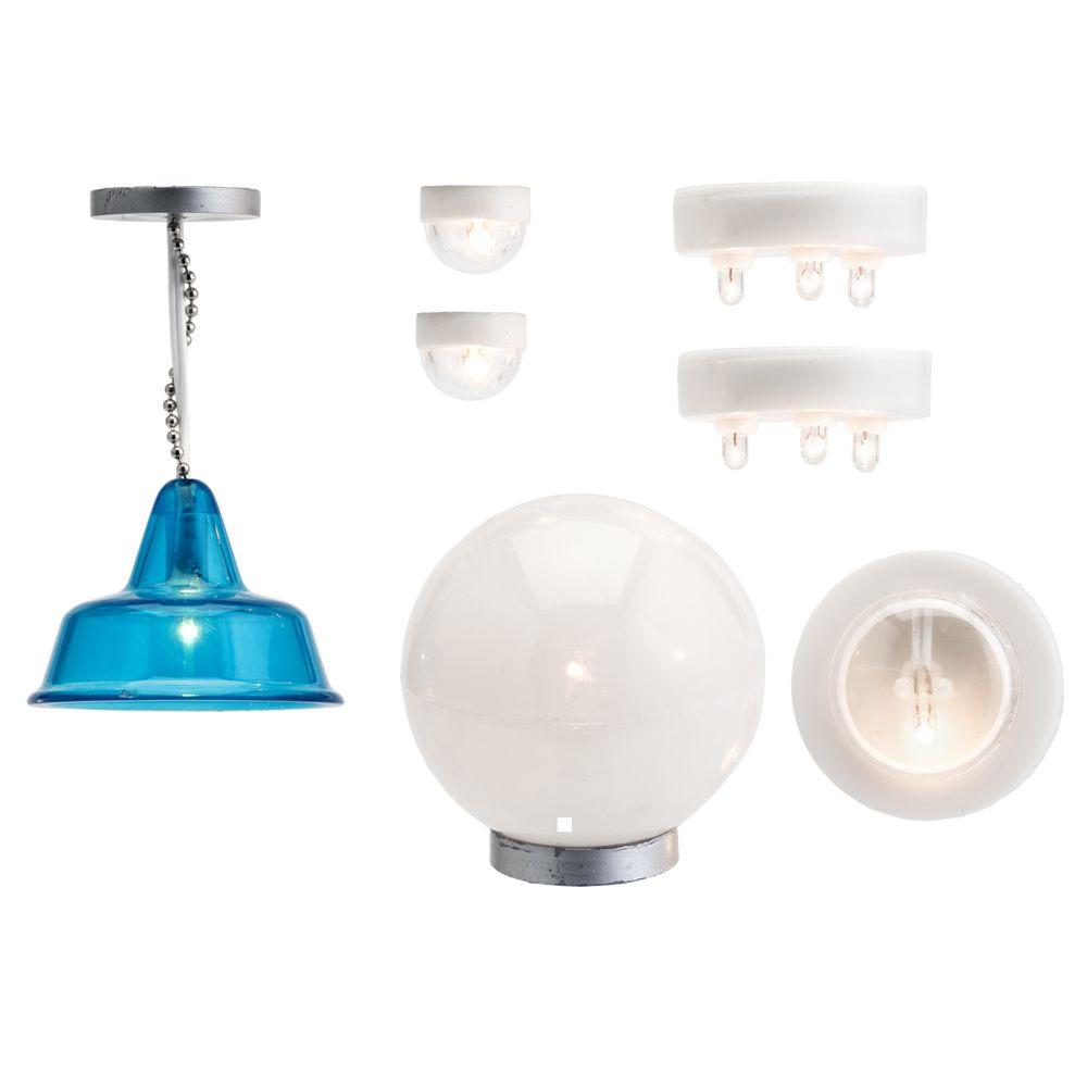 Набор светильников, для домика, игровой