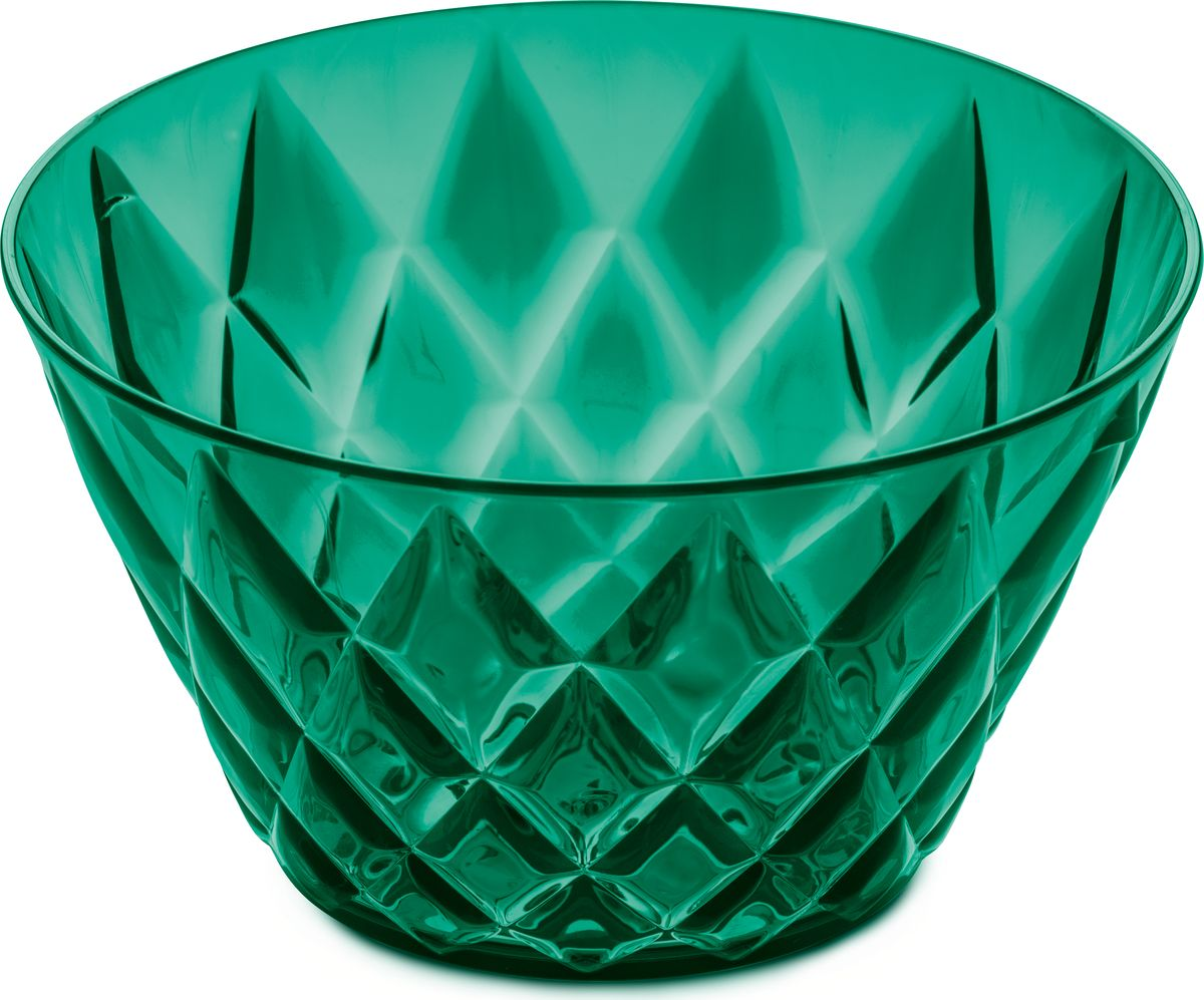 Миска Koziol CRYSTAL S, цвет: зеленый, 500 мл