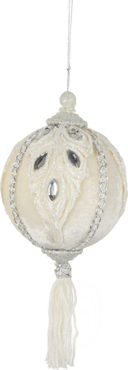 Елочная игрушка House of Seasons Шар, цвет: серебро, диаметр 8 см joseph r trudel of seasons known