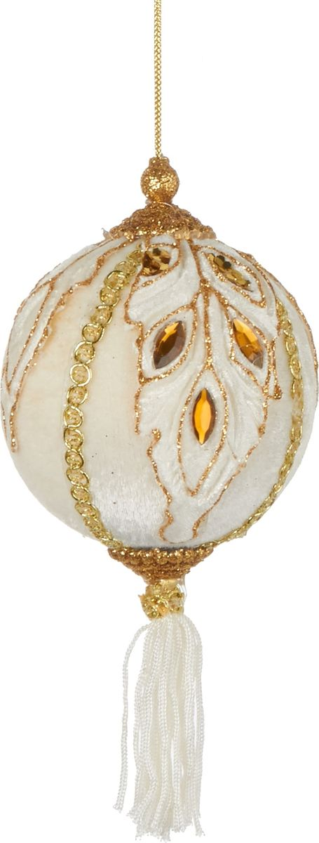 Елочная игрушка House of Seasons Шар, цвет: золото, диаметр 8 см joseph r trudel of seasons known