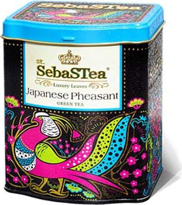 Чай листовой зеленый SebaSTea Japanese Pheasant, 100 г цена в Москве и Питере