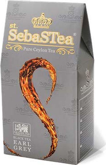 Чай листовой черный с бергамотом SebaSTea Earl Grey, 100 г basilur persian earl grey чай черный листовой с бергамотом 100 г