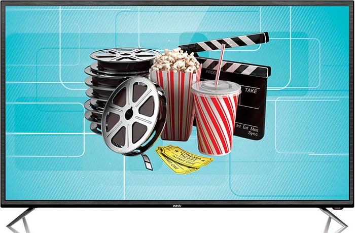 Телевизор BBK 43LEX-7027/FT2C 43, черный телевизоры