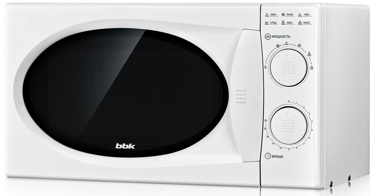 Микроволновая печь BBK 20MWS-803M/W, цвет: белый