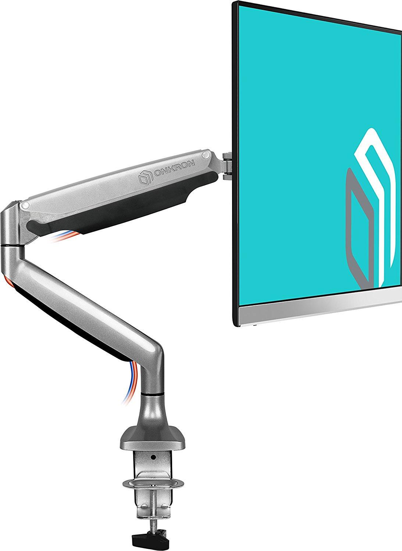 Крепление для монитора ONKRON G100S, серебристый