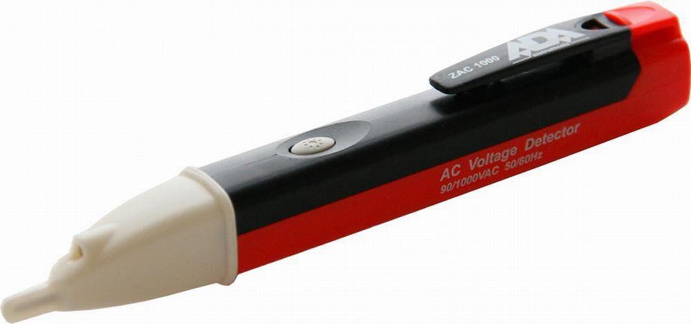 Детектор напряжения АС ADA ZAC 1000, бесконтактный