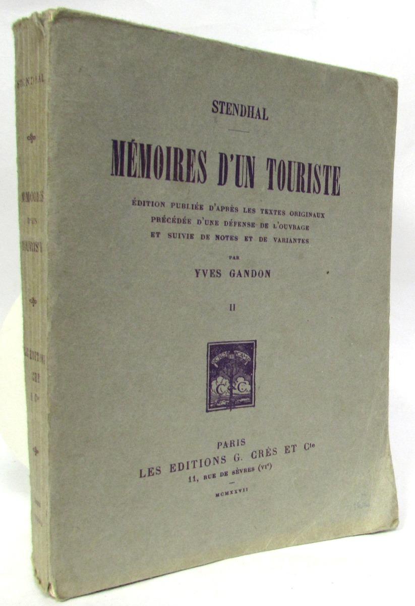 Memoires D`Un Touriste. Том II memoires d un touriste том ii