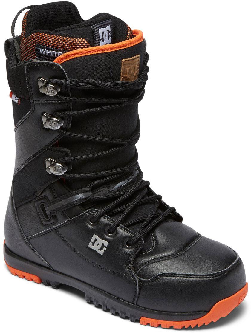 Ботинки для сноуборда DC Shoes Mutiny M LSBT DSD, цвет: серый, коричневый. Размер 9,5D (42,5)