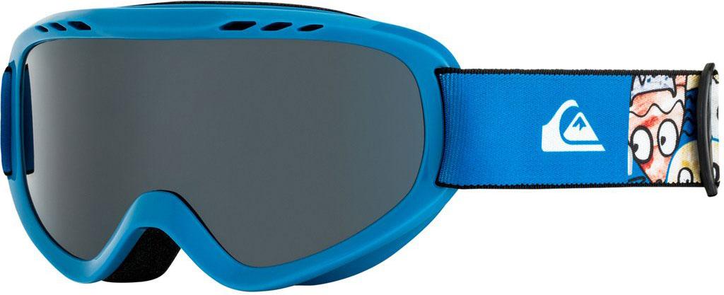 Маска для защиты глаз Quiksilver FLAKE GOGGLE B SNGG BQC1, цвет: синий. Размер универсальный бейсболка мужская quiksilver starkness цвет темно синий aqyha04308 bng0 размер универсальный