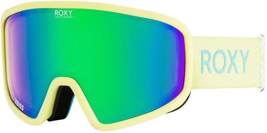 Маска для защиты глаз Roxy FEELIN J SNGG KVJ3, цвет: желтый. Размер универсальный куртка женская roxy цвет зеленый красный бежевый erjtj03184 kvj3 размер s 42