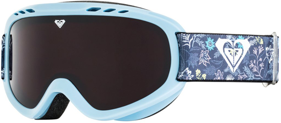 Маска для защиты глаз Roxy SWEET G SNGG BGZ3, цвет: голубой, синий. Размер универсальный брюки женские roxy symphony new цвет светло голубой erjnp03226 bmkh размер m 44