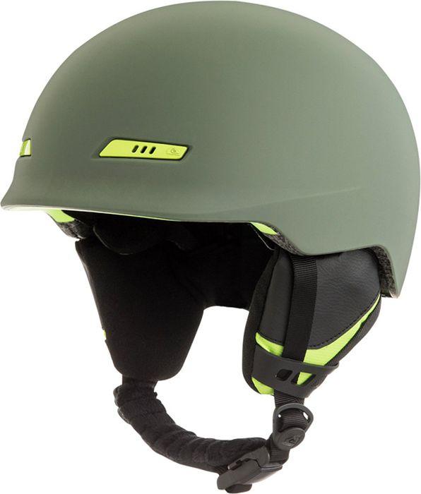 Шлем для горных лыж и сноуборда Quiksilver PLAY M HLMT CRE0, цвет: зеленый. Размер M рюкзак мужской quiksilver everydaypostemb m eqybp03501 bng0 королевский синий