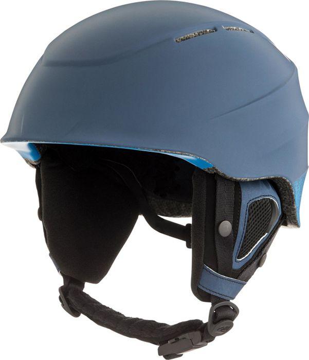 Шлем для горных лыж и сноуборда Quiksilver ALTHY M HLMT BTK0, цвет: синий. Размер S